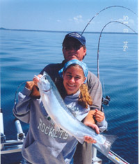 Lake Michigan Salmon, Steelhead & Trout Charter