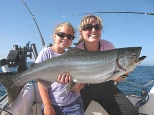 Lake Michigan Salmon & Trout Fishing