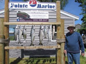 Lake Michigan Salmon fishing out of Muskegon